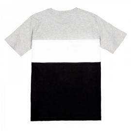 Camiseta Fila Classic Day Blocked gris/blanco/negro niño