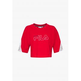 Camiseta Fila Lavi Cropped rojo mujer