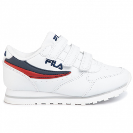 Zapatillas Fila Orbit velcro blanco niño