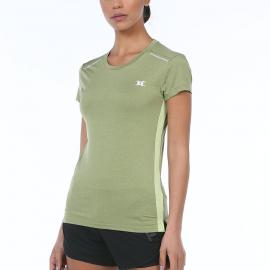 Camiseta John Smith Aegir verde mujer