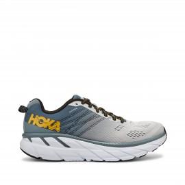 Zapatillas running Hoka One One Clifton 6 gris hombre