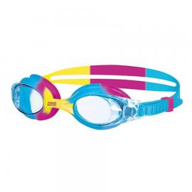Gafas natación Zoggs Little Boni azul/amarillo/rosa infantil