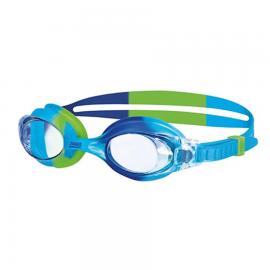 Gafas natación Zoggs Little Boni azul/verde/clear infantil