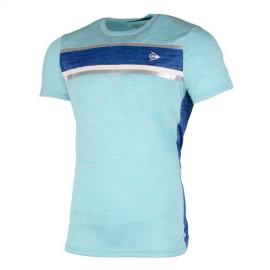 Camiseta tenis/pádel Dunlop AC Performance azul hombre
