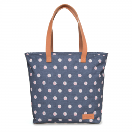 Bolso Eastpak Flask Super Dot azul