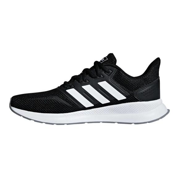 Zapatillas running adidas Runalfalcon negro/blanco mujer