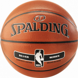 Balón baloncesto Spalding Silver Series IN/OUT naranja