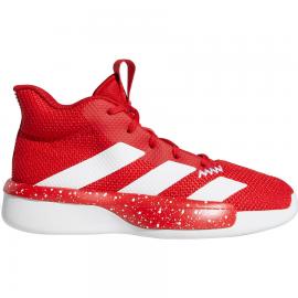 Zapatillas baloncesto adidas Pro Next 2019 K rojo/blanco jr