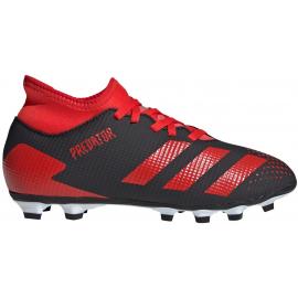 Botas fútbol adidas Predator 20.4 IIC negro/rojo junior