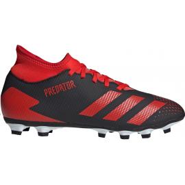 Botas fútbol adidas Predator 20.4 IIC negro/rojo hombre