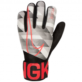 Guantes portero Nike Match Graphic gris/negro/rojo junior