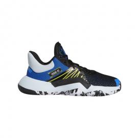 Zapatillas baloncesto addidas D.O.N Issue 1 negro/azul niño
