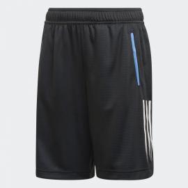 Panrtalón corto adidas JB Aeroready negro/azul junior