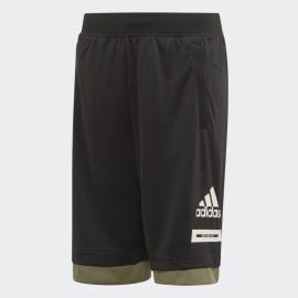 Panrtalón corto adidas JB Bold negro/verde/blanco junior