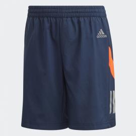 Pantalón corto adidas JB Own The Run azul junior
