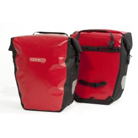 Alforjas Ortlieb Back-Roller City Ql1 pack 2 rojo 20 litros