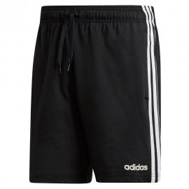 Pantalón adidas Essentials 3 Stripes negro/blanco hombre