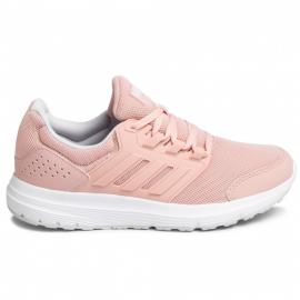 Zapatillas running adidas Galaxy 4 rosa mujer