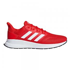 Zapatillas running adidas Runalfalcon rojo/blanco hombre
