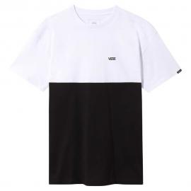 Camiseta Vans Colorblock blanco/negro hombre