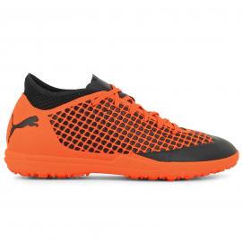 Zapatillas fútbol Puma Future 2.4 TT negro/naranja hombre
