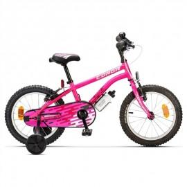 """Bicicleta conor Meteor 16"""" rosa"""