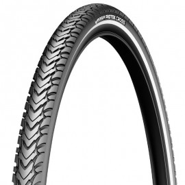 Cubierta Michelin 700x35C Protek Cross flanco reflec.