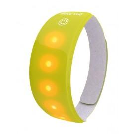 Cinta de luz Wowow 5 led amarillo 3M, con velcro