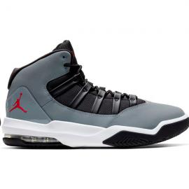Zapatillas baloncesto Nike Jordan Max Aura gris/negro/rojo