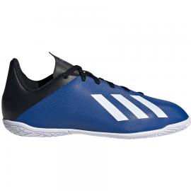 Zapatillas fútbol sala adidas X 19.3 IN azul junior