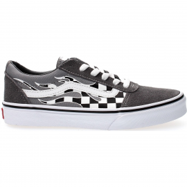 Zapatillas Vans Ward gris/blanco junior