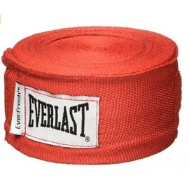 Venda elastica everlast rojo nylon/poliester