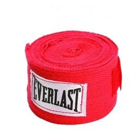 Venda elastica Everlast algodon roja