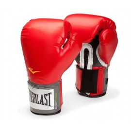 Guante boxeo pro style training everlast rojo