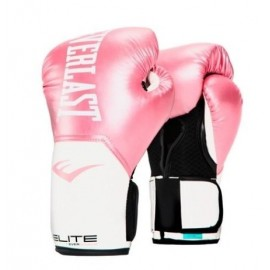 Guantes de boxeo Elite Prostyle Training Everlast rosa mujer