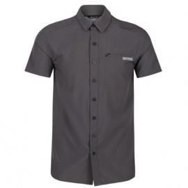 Camisa outdoor Regatta Kioga II gris hombre