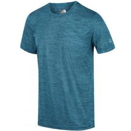 Camiseta outdoor Fingal V Regatta Azul hombre