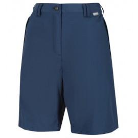 Pantalon corto senderismo Charka II azul mujer
