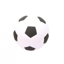 Balon futbol foam softee blanco/negro