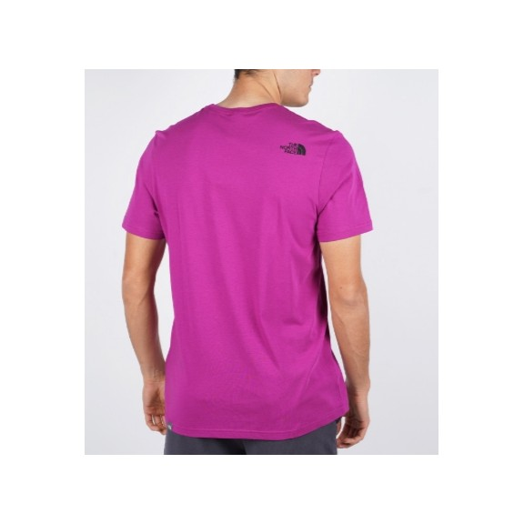 Camiseta The North Face Easy Tee morado/negro hombre