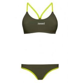 Bikini Jaked Firenze verde/lima mujer