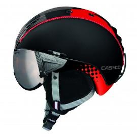 Casco Sp-2 Snowball Visor negro rojo 3708