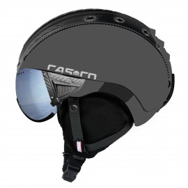 Casco Sp-2 Snowball Visor gris mate polarizado