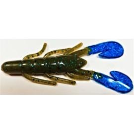 "Ultravibe Speed Craw 3 1/2"" G.P.B./ Blue Claw"