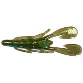 "Ultravibe Speed Craw 3 1/2"" Cinamon Green"