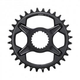 Plato Shimano XT FC-M8100 36 Dientes 12 velocidades negro