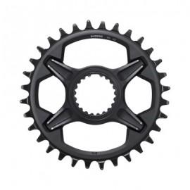 Plato Shimano XT 34 Dientes 12 velocidades negro