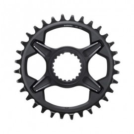 Plato Shimano XT FC-M8100 34 Dientes 12 velocidades negro