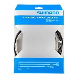 Cable freno/tunda/topes Shimano Mtb-Carretera acero negro 80