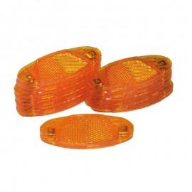 1 Unidad catadadioptricos para radios con clip naranja